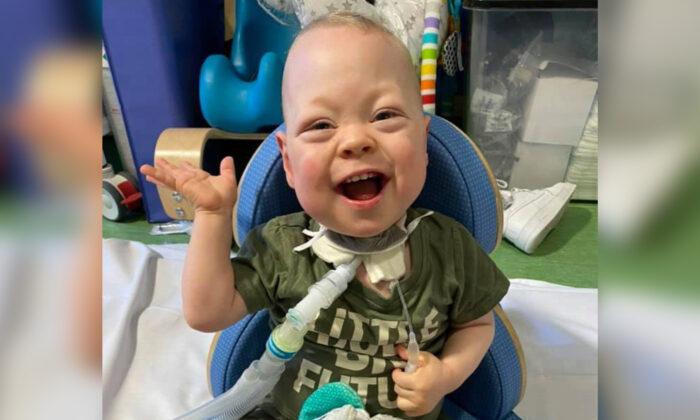 Nuevo protocolo con respirador de hospital de Inglaterra salva a un bebé con poca esperanza de vida