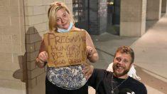 Mujer embarazada y su esposo parapléjico reciben sincera amabilidad de unos desconocidos