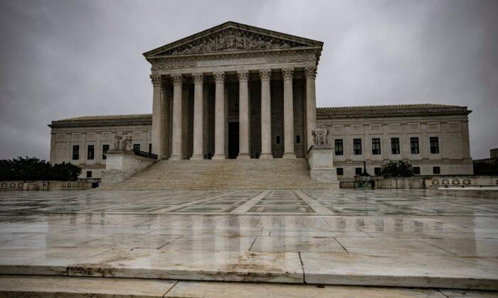 La Corte Suprema de Estados Unidos, el 12 de octubre de 2020. (Samuel Corum/Getty Images)