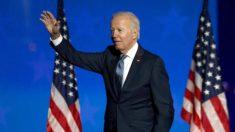 """Joe Biden no declara la victoria, pero cree que """"será el ganador"""""""