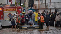 Más de 80,000 afectados y 12 muertos por lluvias en el sureste de México