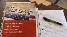 Nuevo examen de ciudadanía incluye más preguntas y requiere más respuestas correctas