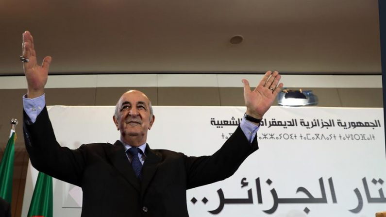 El presidente de Argelia, Abdelmejid Tebboune. EFE/EPA/MOHAMED MESSARA/Archivo