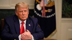 """Trump expresa """"profundo agradecimiento"""" a las tropas en el Día de Acción de Gracias"""