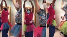 """Paciente de cáncer de 5 años amante del ballet recibe baile del """"Lago de los cisnes"""" de sus doctores: Video"""
