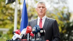Dimite el presidente de Kosovo por una acusación de crímenes de guerra