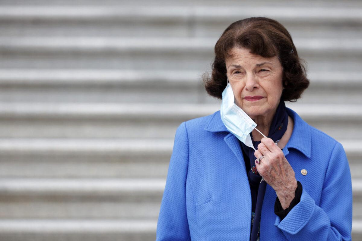 Feinstein dejará de ser la principal demócrata en el Comité Judicial del Senado