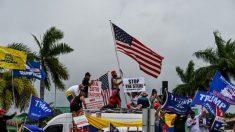 """Latinos partidarios de Trump se reúnen en Florida para exigir """"elecciones justas"""""""