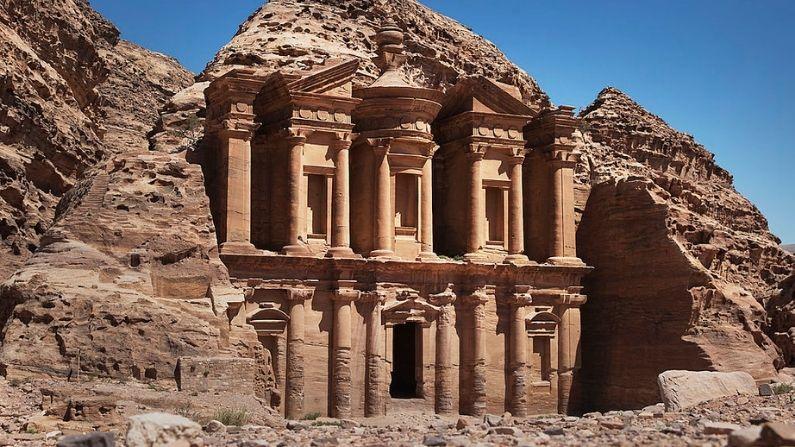 Una vista general del edificio del Monasterio de Petra el 29 de marzo de 2013 en Petra, Jordania. (Adam Pretty/Getty Images)