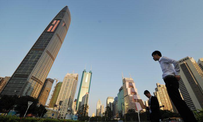 Vista del horizonte de Shenzhen en la provincia de Guangdong (China). (PETER PARKS/AFP/Getty Images)