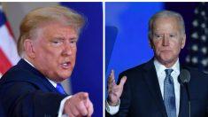 """La campaña Trump dice que la proyección de Biden como ganador es """"falsa"""""""