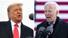 Biden pasará la noche de las elecciones en Delaware y Trump en Washington
