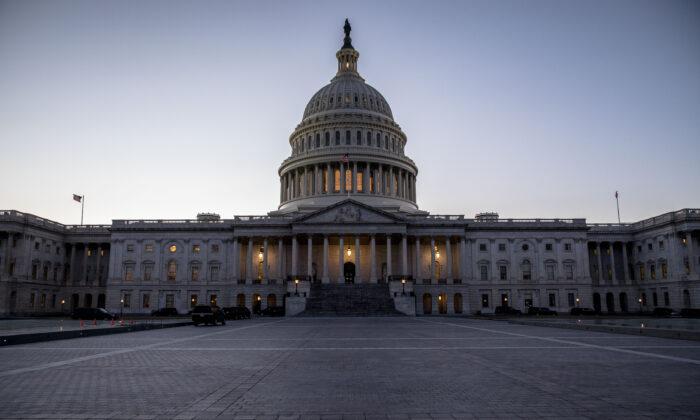 El edificio del Capitolio, en Washington, el 30 de enero de 2018. (Samira Bouaou/The Epoch Times)