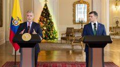 El presidente colombiano Iván Duque recibe a opositor venezolano Leopoldo López
