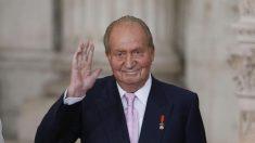 El rey emérito Juan Carlos I paga a la Hacienda española una deuda de 678,000 euros