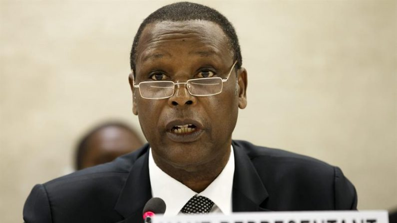 El expresidente burundés Pierre Buyoya. EFE/Salvatore Di Nolfi/Archivo