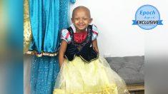 Niña de 5 años que lucha contra el cáncer vive su sueño en una sesión de fotos de princesas Disney