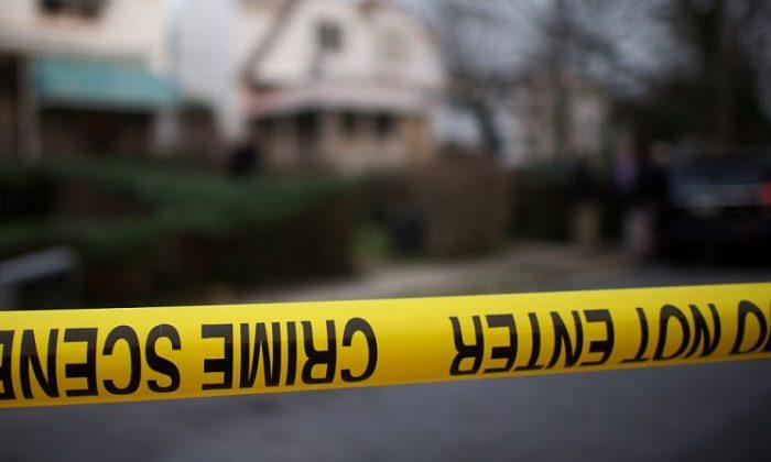 La cinta de la policía en una escena del crimen (Mark Makela/Getty Images)