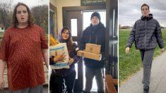 Adolescente con autismo pierde 75 libras revisando el correo todos los días