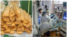 Abuelita sobrevive a COVID-19 y prepara 800 tamales para médicos y enfermeras que le salvaron la vida