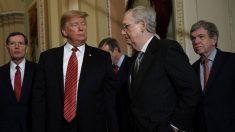 McConnell pide a los republicanos que anulen el veto de Trump al proyecto de ley de defensa