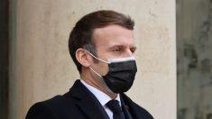 """Macron muestra """"signos de mejoría"""" del virus del PCCh"""