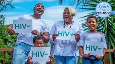 """Mujer VIH positiva celebra 18 años de amor incondicional de su marido y sus hijos: """"Confío en Dios"""""""