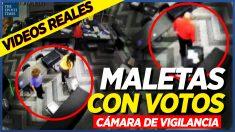Al Descubierto: Maletas llenas de boletas, escondidas bajo una mesa y contadas sin supervisión