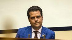 El representante Matt Gaetz dice que impugnará los votos del Colegio Electoral el 6 de enero