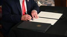 Trump firma orden ejecutiva que promueve uso de inteligencia artificial en el gobierno de EE.UU.