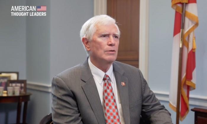 El congresista Mo Brooks (R-AL). (The Epoch Times)