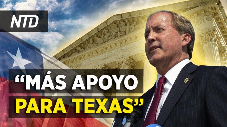 Texas suma apoyo en la Corte Suprema; EE. UU. sanciona a funcionario chino. (NTD Noticias/NTD en Español)