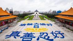 Miles de personas se reúnen en Taiwán para arrojar luz sobre la actual persecución en China