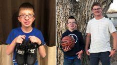 Estudiante de secundaria compra zapatos para niño de 8º grado después que los arrojaran al inodoro
