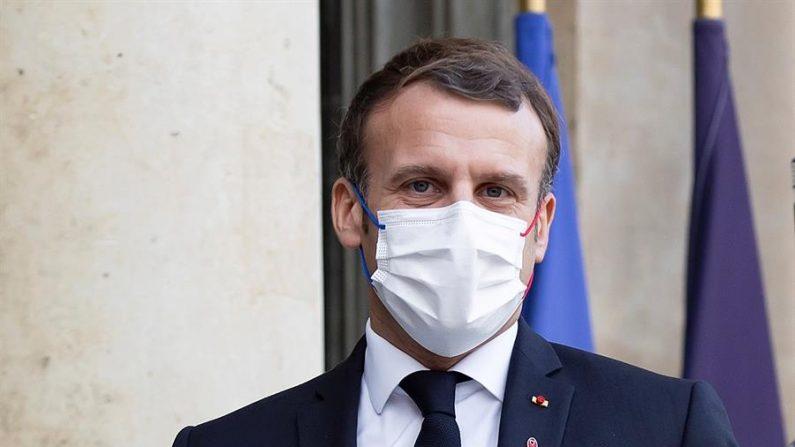 El presidente francés, Emmanuel Macron. EFE/EPA/IAN LANGSDON/Archivo