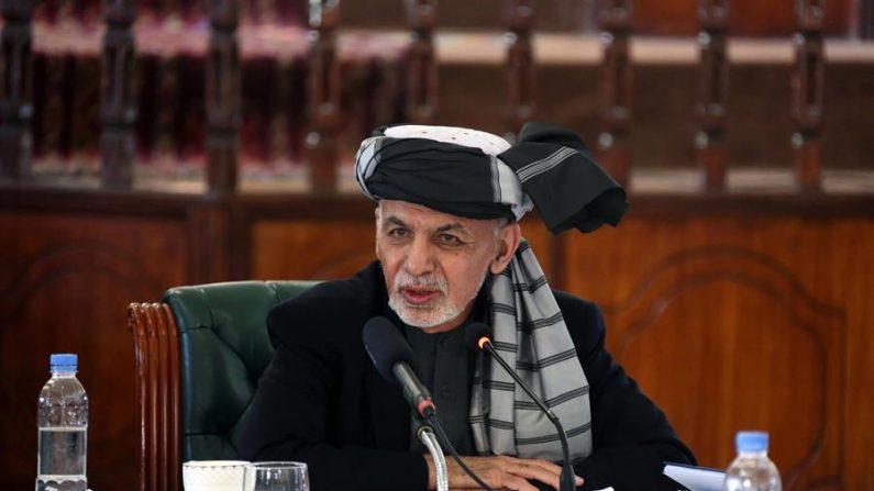 El presidente afgano Ashraf Ghani. EFE/EPA/Afghan Presidential Palace
