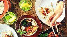6 formas diferentes de ver lo que come: terapia de comida china