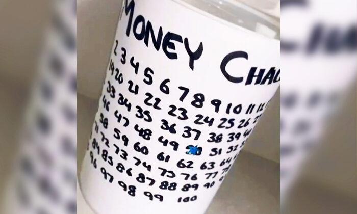 """""""Desafío del dinero"""". (Cortesía de Becky Turiczi)"""