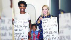 Profesora termina de pagar deuda de USD 49,000 que adquirió para adoptar a un alumno y su hermano