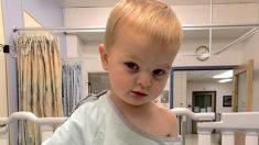 Mujer ve brillo blanco en pupila de su hijo que resulta en un diagnóstico temprano de cáncer de ojos