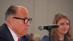 La legislatura de Arizona cerrará una semana después de que Giuliani diera positivo por COVID-19