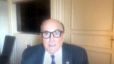 Rudy Giuliani: La Cámara de Georgia necesita 'valor para reaccionar' ante el fraude electoral
