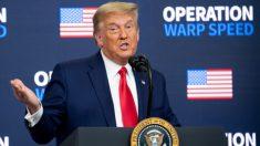 """Trump dice que legisladores y jueces necesitan """"coraje"""" para hacer lo correcto en batallas electorales"""
