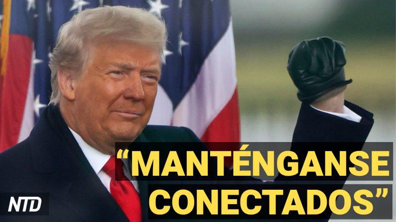 Twitter elimina la cuenta de Trump y  200 congresistas piden enjuiciarlo. (NTD Noticias/NTD en Español)