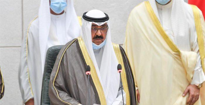 Emir de Kuwait acepta renuncia de Gobierno un mes después de su formación