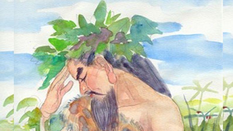 Se dice que Shennong, o el Granjero Divino, enseñó la agricultura china y la medicina herbal. (Fuente: www.zhengjian.org)