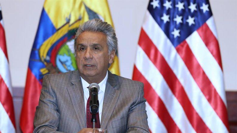 El presidente de Ecuador Lenín Moreno. EFE/José Jácome/Archivo