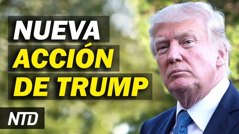 Cámara presenta artículo de impeachment; Trump abre oficina del expresidente. (NTD Noticias/NTD en Español)