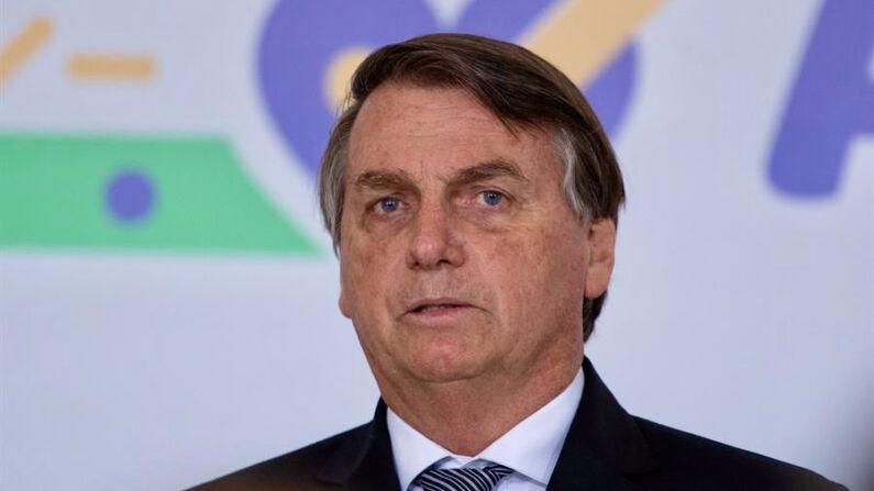El presidente de Brasil, Jair Bolsonaro. (EFE/Joedson Alves/Archivo)