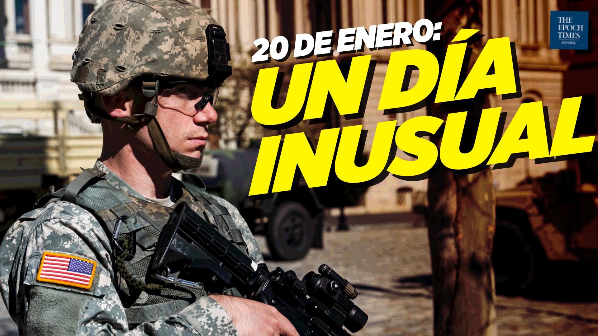 Al Descubierto: EE. UU. se prepara para un 20 de enero inusual; Parler vuelve a estar en línea